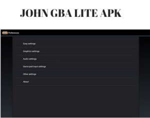 john gba lite apk free download for android devices. Black Bedroom Furniture Sets. Home Design Ideas