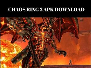 chaos ring 2 apk
