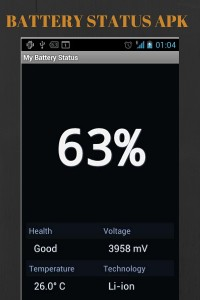 Battery status apk