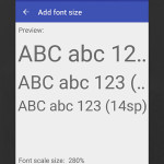 Download Big Font Pro Apk Full File For Free