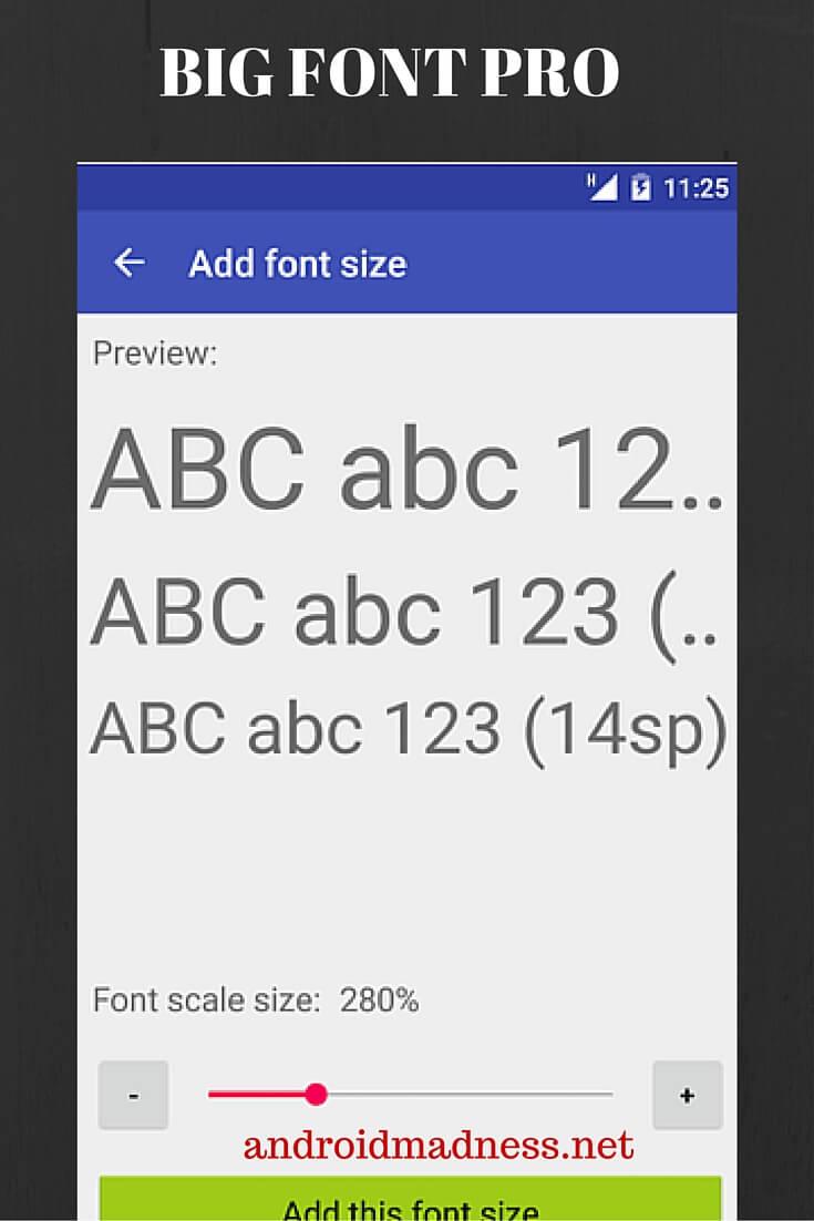 big font pro apk