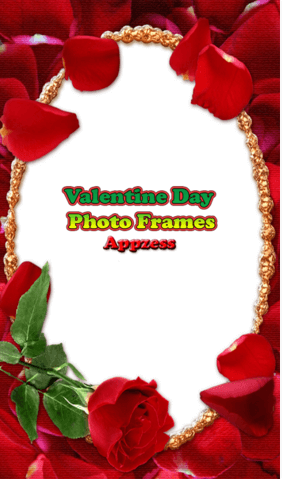 valentine day photo frames apk