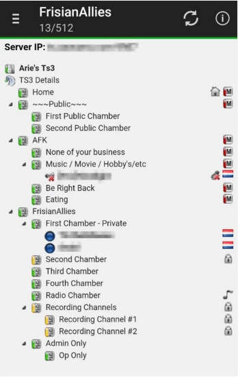 teamspeak viewer apk