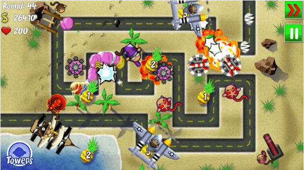 bloons tower defense 4 apk
