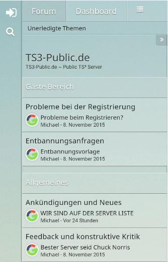TS3-Public.de - Teamspeak Apk
