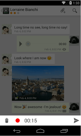 Threema Voice Message plugin Apk