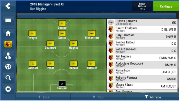 Football Manager Mobile 2018 Apk +Data+OBB [v 9.0.3]