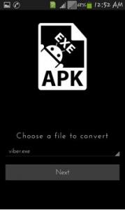 EXE TO APK Converter Apk