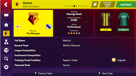 Football Manager 2019 Mobile Apk + MOD [v 10 0 2]