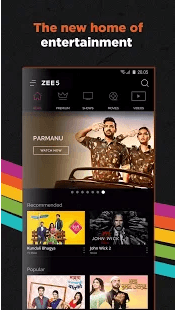 Zee5 Android App