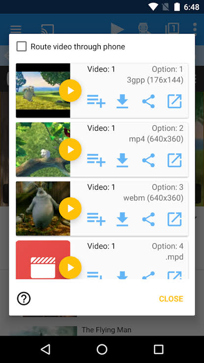 web video cast app