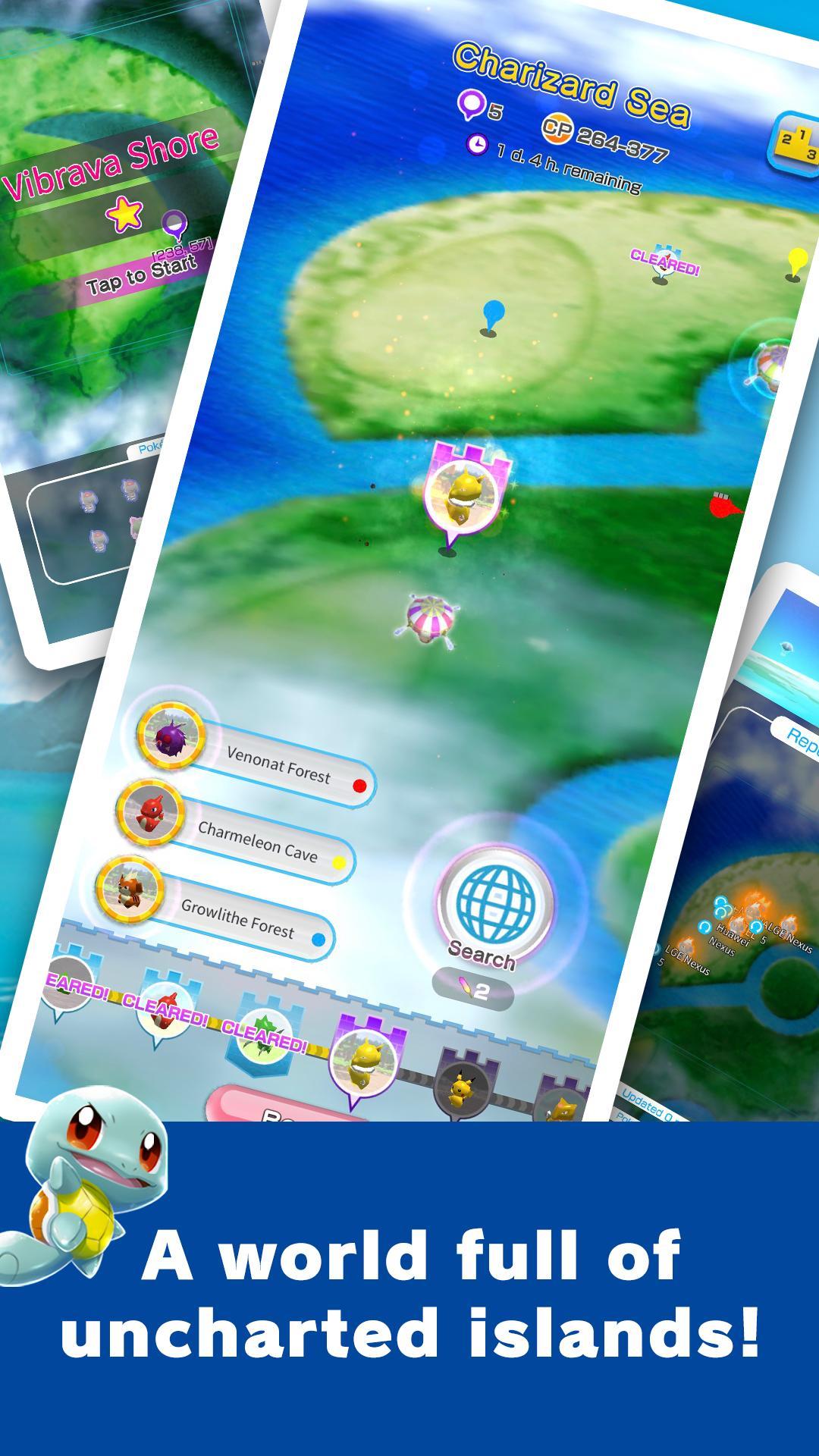 Pokemon Rumble Rush Android