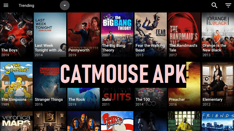 Cat Mouse Android Tv