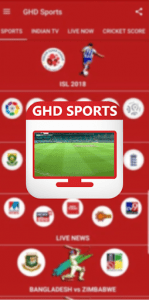GHD Sports Android
