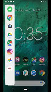 sidebar android
